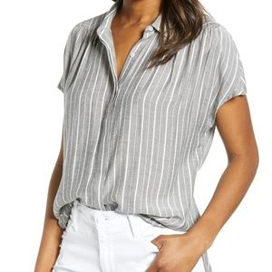 NWT Striped Lucky Brand Blouse